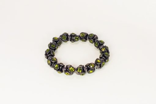 Green Limey Swaroski Crystal Bracelet