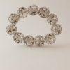 Lucite Crystal Balls Stunner Stretchy Bracelet