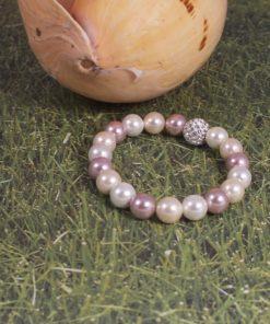 Pearly Cream Pearl Bracelet