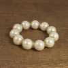 Big Balls of Pearls Bracelet