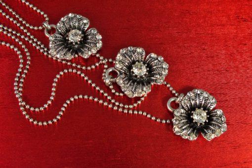 Cascading Trio Long Necklace