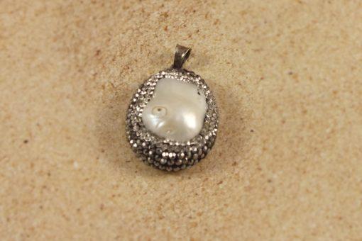 Swaroski Encased Pearl Pendant