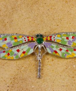 Statement Red Green Dragaonfly