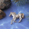 Lone Horse Brooch