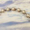 Genuine White Pearls in Silver Encasings